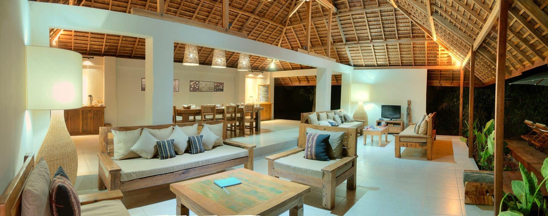 Restaurant & Lounge at Alami Alor Dive Resort
