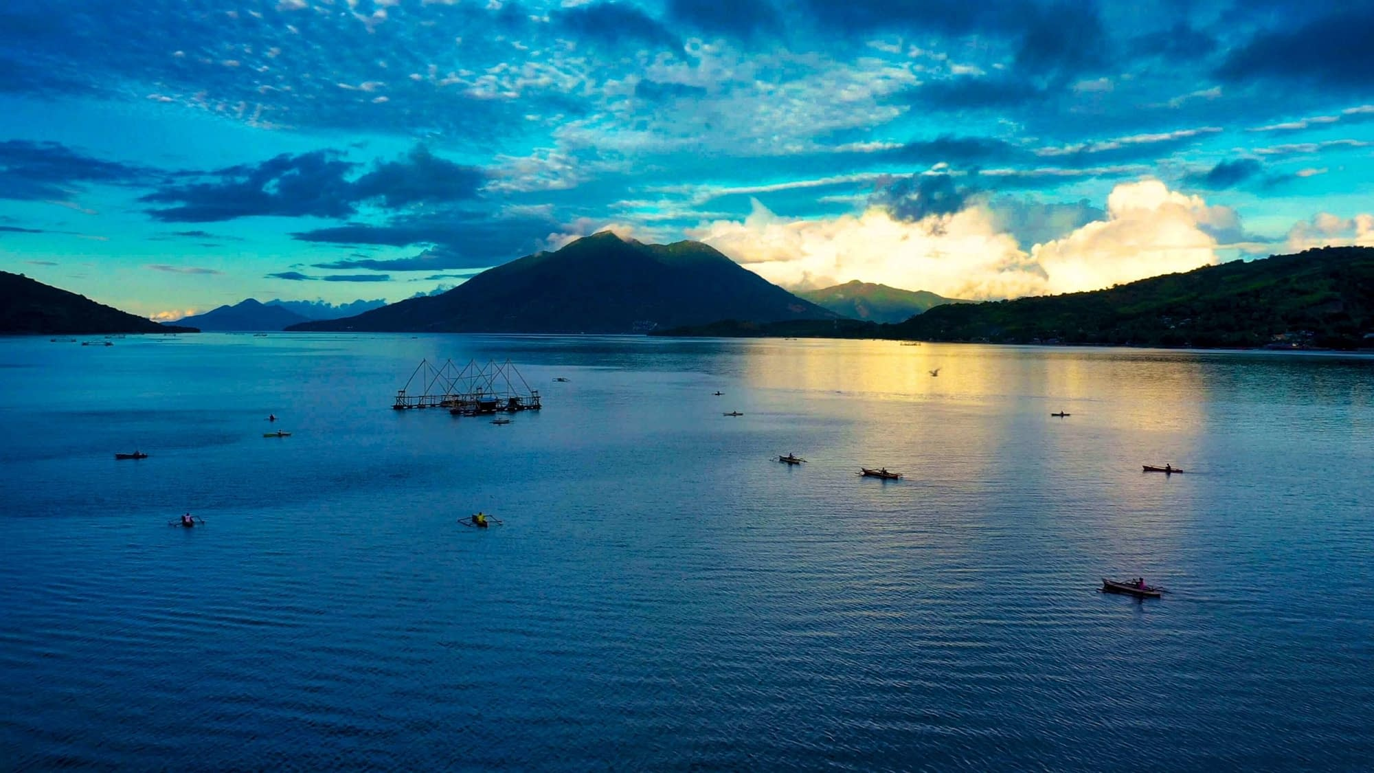 Sunset Kalabahi Bay - Alami Alor