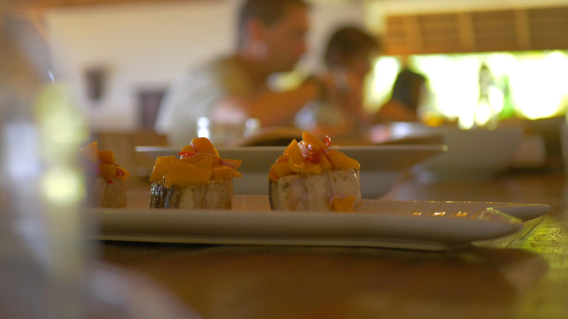 Alami Alor Restaurant Tuna Filet Mango Salsa